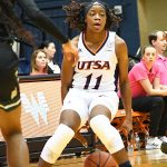 Charlene Mass. Charlotte beat the UTSA women in CUSA on Saturday. - photo by Joe Alexander