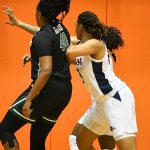 Elena Blanding. Charlotte beat the UTSA women in CUSA on Saturday. - photo by Joe Alexander