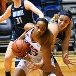Shannan Mitchell. Old Dominion beat UTSA in CUSA women's basketball on Thursday at UTSA. - photo by Joe Alexander