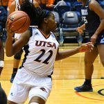 Ceyenne Mass. Old Dominion beat UTSA in CUSA women's basketball on Thursday at UTSA. - photo by Joe Alexander