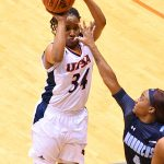 Karrington Donald. Old Dominion beat UTSA in CUSA women's basketball on Thursday at UTSA. - photo by Joe Alexander