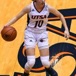 Karley Larson. Old Dominion beat UTSA in CUSA women's basketball on Thursday at UTSA. - photo by Joe Alexander