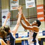 Evelyn Omemmah. Old Dominion beat UTSA in CUSA women's basketball on Thursday at UTSA. - photo by Joe Alexander