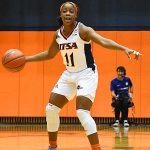 Charlene Mass. UTEP women beat UTSA 85-59 on Thursday at the UTSA Convocation Center. - photo by Joe Alexander