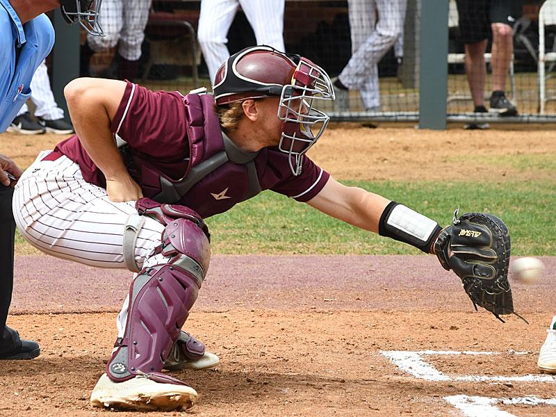 Tyler Pettit. Trinity beat New Jersey City University 7-5 in 10 innings on Tuesday. - photo by Joe Alexander