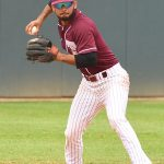 Michael Herrera. Trinity beat New Jersey City University 7-5 in 10 innings on Tuesday. - photo by Joe Alexander