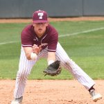Jack Wisniewski. Trinity beat New Jersey City University 7-5 in 10 innings on Tuesday. - photo by Joe Alexander