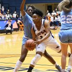 Karrington Donald. UTSA lost to Louisiana Tech on Thursday at the UTSA Convocation Center in the Roadrunners' final women's basketball game of the season. - photo by Joe Alexander