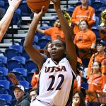 Ceyenne Mass. UTSA lost to Louisiana Tech on Thursday at the UTSA Convocation Center in the Roadrunners' final women's basketball game of the season. - photo by Joe Alexander