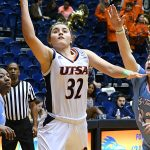 Adryana Quezada. UTSA lost to Louisiana Tech on Thursday at the UTSA Convocation Center in the Roadrunners' final women's basketball game of the season. - photo by Joe Alexander
