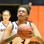 Elena Blanding. UTSA lost to Louisiana Tech on Thursday at the UTSA Convocation Center in the Roadrunners' final women's basketball game of the season. - photo by Joe Alexander