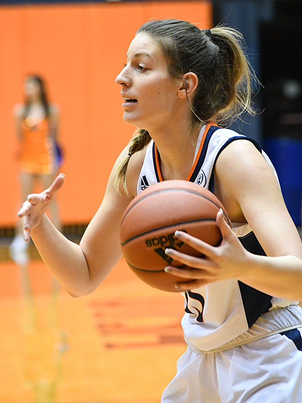 Timea Toth. UTSA lost to Louisiana Tech on Thursday at the UTSA Convocation Center in the Roadrunners' final women's basketball game of the season. - photo by Joe Alexander