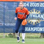 Celeste Loughman. UTSA beat North Texas 9-1 Saturday at Roadrunner Softball Field. - photo by Joe Alexander