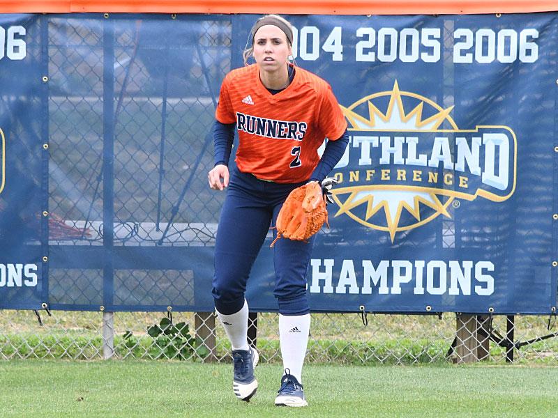 Celeste Loughman. UTSA beat North Texas 9-1 Saturday at Roadrunner Softball Field. - photo by Joe Alexander