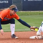 Riley Grunberg. UTSA beat North Texas 9-1 Saturday at Roadrunner Softball Field. - photo by Joe Alexander