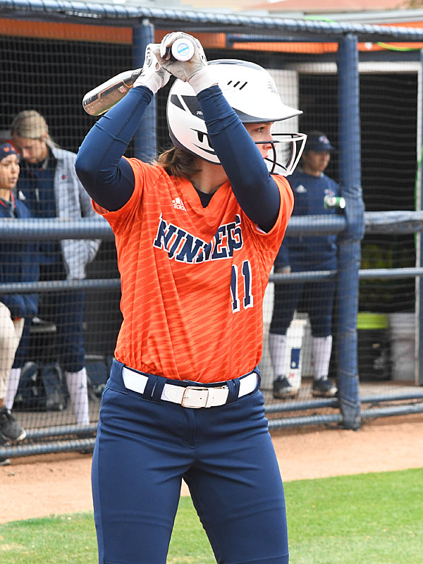 Lauren Coerver. UTSA beat North Texas 9-1 Saturday at Roadrunner Softball Field. - photo by Joe Alexander