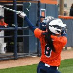 Hannah Boring. UTSA beat North Texas 9-1 Saturday at Roadrunner Softball Field. - photo by Joe Alexander
