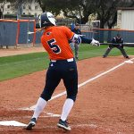 Paige Pacher. UTSA beat North Texas 9-1 Saturday at Roadrunner Softball Field. - photo by Joe Alexander