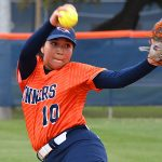 Clarissa Hernandez. UTSA beat North Texas 9-1 Saturday at Roadrunner Softball Field. - photo by Joe Alexander