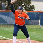 Tori Villarreal. UTSA beat North Texas 9-1 Saturday at Roadrunner Softball Field. - photo by Joe Alexander