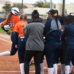 UTSA's Riley Grunberg hit a solo home run in the fourth inning Saturday against North Texas. - photo by Joe Alexander