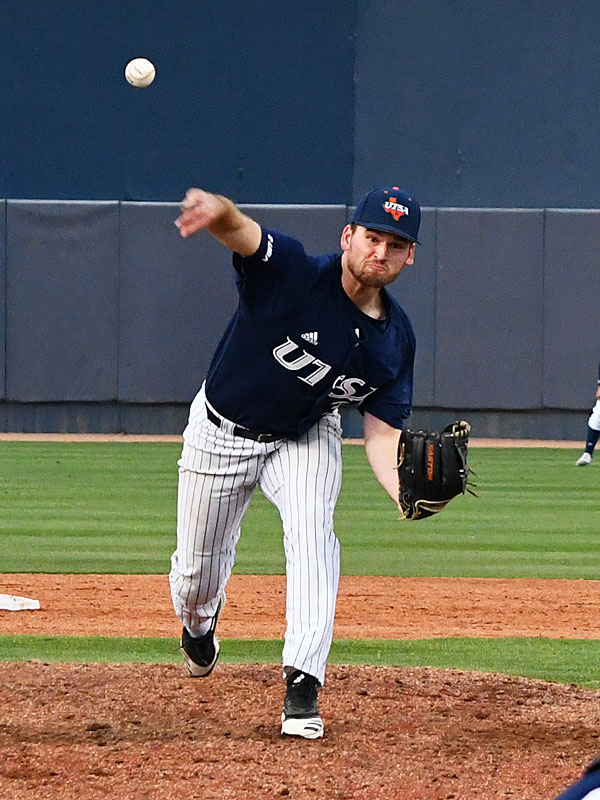 UTSA pitcher Luke Malone has signed to play for the Round Rock Hairy Men for the 2020 TCL season. - photo by Joe Alexander