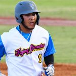 Johnny Hernandez of the Flying Chanclas de San Antonio playing against the Acadiana Cane Cutters at Wolff Stadium on Saturday, July 4, 2020. - photo by Joe Alexander