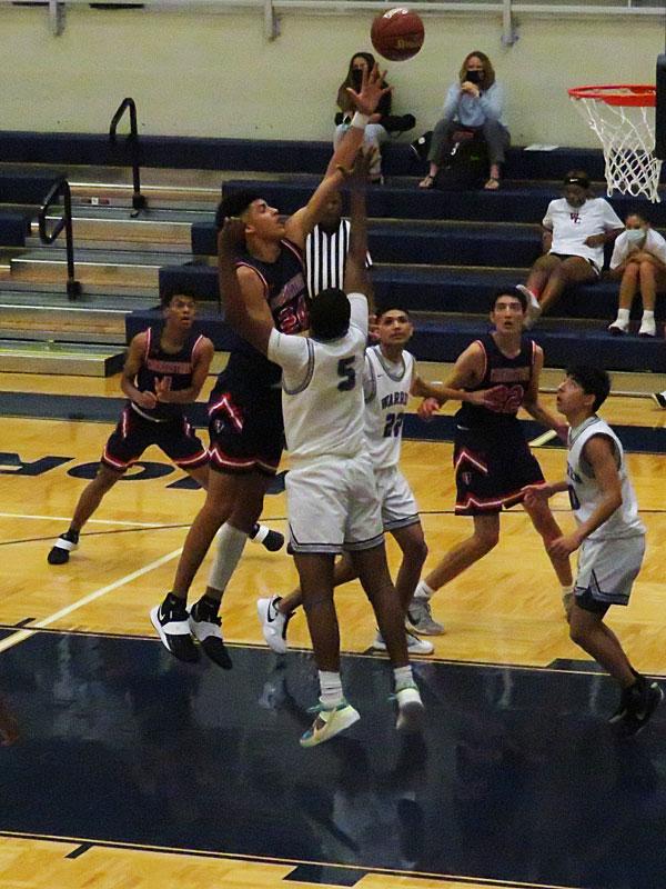 Warren beat Cornerstone Christian 55-48 in boys basketball at Taylor Field House on Monday, Nov. 23 2020. - photo by Joe Alexander