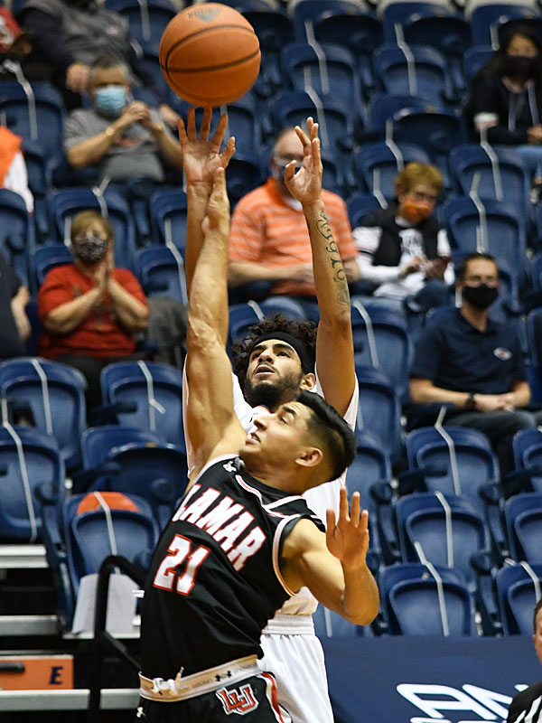 UTSA senior guard Jhivvan Jackson is a returning first-team All-Conference USA player in 2020-21. - photo by Joe Alexander