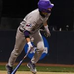 TCU third baseman Conner Shepherd, a member of the 2020 Flying Chanclas de San Antonio, plays against UTSA on Wednesday, March 10, 2021, at Roadrunner Field. - photo by Joe Alexander