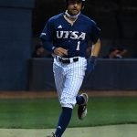 UTSA's Jonathan Tapia playing against UT-Arlington on Friday, March 5, 2021, at Roadrunner Field. - photo by Joe Alexander
