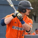UTSA's Dylan Rock playing against UT-Arlington on March 6, 2021, at Roadrunner Field. - photo by Joe Alexander