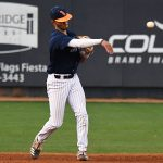 UTSA shortstop Josh Lamb playing against TCU on March 10 at Roadrunner Field. - photo by Joe Alexander