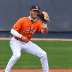 UTSA shortstop Josh Lamb playing against UT-Arlington on March 6 at Roadrunner Field. - photo by Joe Alexander