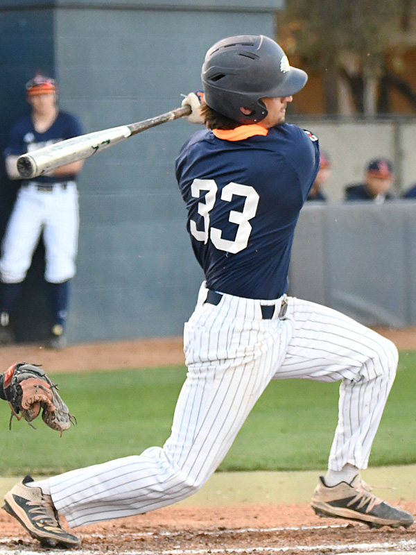 UTSA's Nick Thornquist playing against UT-Arlington on March 5, 2021, at Roadrunner Field. - photo by Joe Alexander