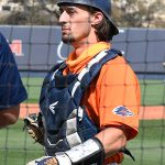 UTSA's Nick Thornquist playing against UT-Arlington on March 6, 2021, at Roadrunner Field. - photo by Joe Alexander
