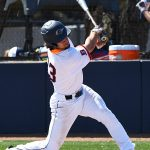 UTSA's Nick Thornquist playing against UT-Arlington on March 7, 2021, at Roadrunner Field. - photo by Joe Alexander