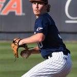 John Chomko gave UTSA a strong start on the mound. UTSA beat Middle Tennessee 7-6 on Friday at Roadrunner Field. – photo by Joe Alexander