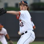 Fischer Kingsbery pitched three innings for UTSA and allowed one run. - photo by Joe Alexander