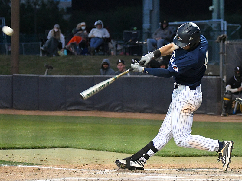 UTSA's Chase Keng playing against Southern Miss on April 2, 2021, at Roadrunner Field. - photo by Joe Alexander