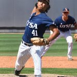UTSA baseball Daniel Garza by Joe Alexander