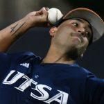 Arturo Guajardo UTSA baseball by Joe Alexander