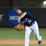 UTSA's Jay Ward pitching against Southern Miss on April 2, 2021, at Roadrunner Field. - photo by Joe Alexander