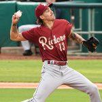 Texas Rangers pitcher prospect Hans Crouse by Joe Alexander