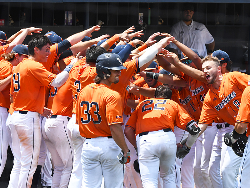 UTSA beat 19th-ranked Old Dominion 12-10 Saturday in the first game of a doubleheader at Roadrunner Field. - photo by Joe Alexander