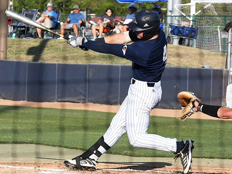 Chase Keng playing for UTSA against Middle Tennessee on April 9, 2021, at Roadrunner Field. - photo by Joe Alexander