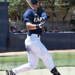 Chase Keng playing for UTSA against Rice on April 25, 2021, at Roadrunner Field. - photo by Joe Alexander