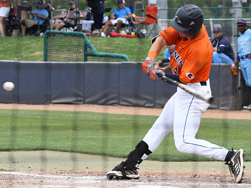 Chase Keng playing for UTSA against Old Dominion on May 9, 2021, at Roadrunner Field. - photo by Joe Alexander
