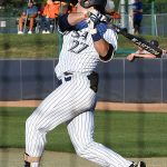 Dylan Rock playing for UTSA against Old Dominion on May 7, 2021, at Roadrunner Field. - photo by Joe Alexander