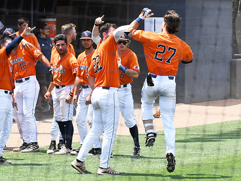 Dylan Rock playing for UTSA against Old Dominion on May 8, 2021, at Roadrunner Field. - photo by Joe Alexander